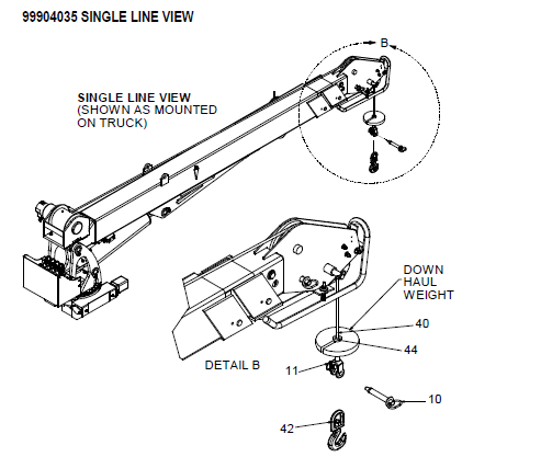 IMT KIT-HRDW CRANE & WINCH 6025 SII - 51720023
