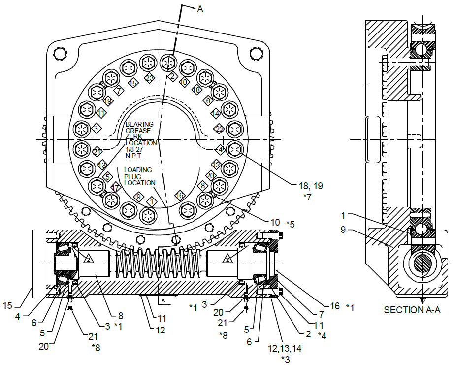 IMT Bearing Retainer - 70145501