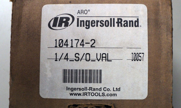Ingersoll Rand Lock-Out Valve - 104174-2