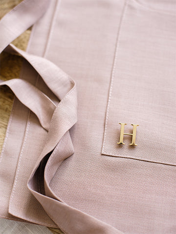 Gold Monogram Pin by Lark and Ives