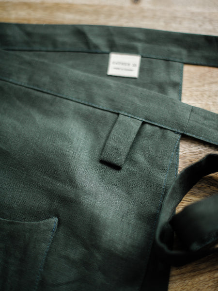 Pine Linen Apron - Limited Edition