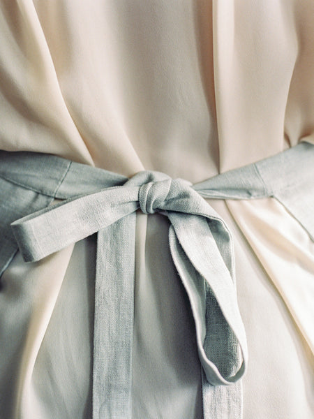 Stone Linen Apron - Limited Edition