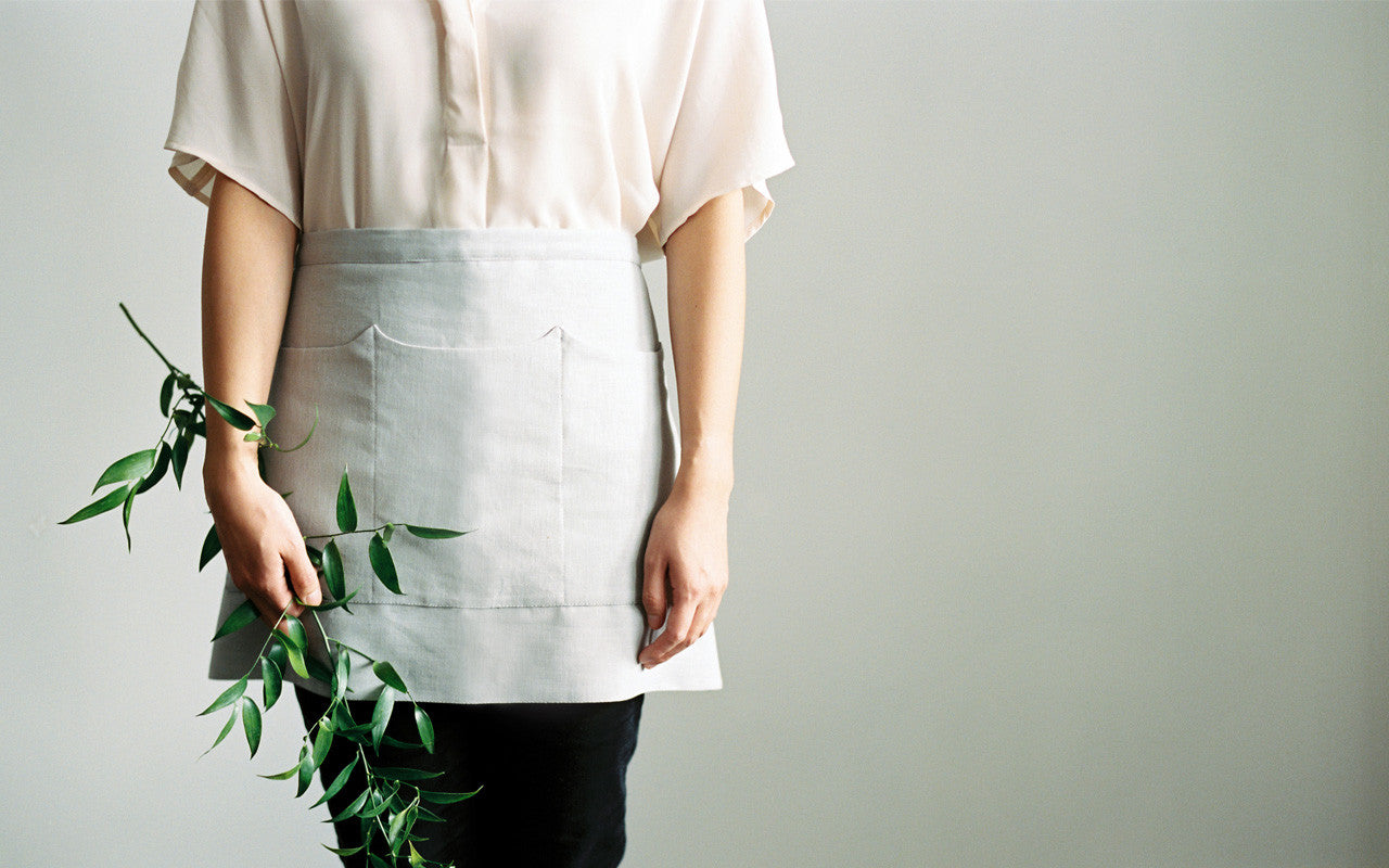 Linen apron for film photographers