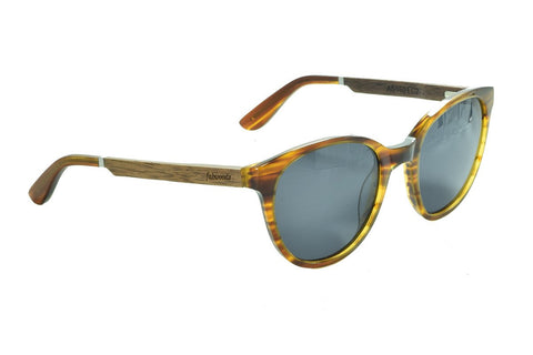 AS1601 C2 Walnut Wooden Sunglass - fabwoods