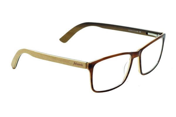 M1643 Maple Wooden Eyewear (51mm) - fabwoods