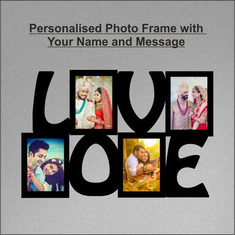 Love Photo Frame Collage - fabwoods