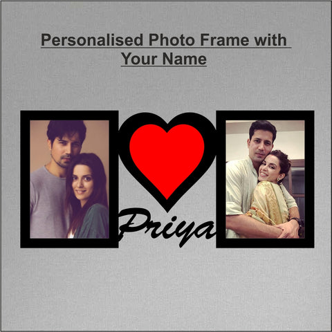Personalized Photo Frame - fabwoods