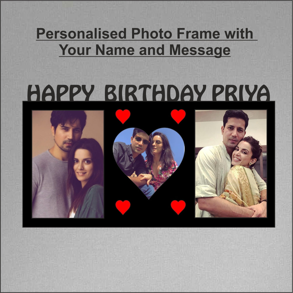 Happy Birthday Personalized Photo Frame 3 picture - fabwoods
