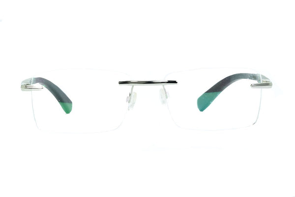 Rimless wooden eyewear frame  - fabwoods  - india