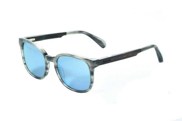 AS1603 C1 Ebony Wooden Sunglass - fabwoods