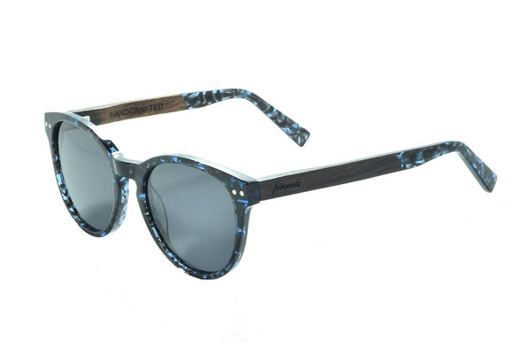 AS1602 C2 Ebony Wooden Sunglass - fabwoods