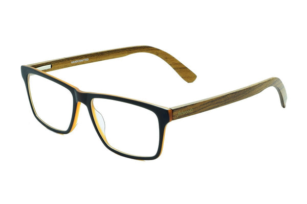 M1643 Teak Wooden Eyewear (51mm) - fabwoods