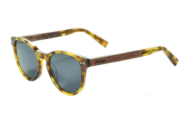 AS1602 C1 Walnut Wooden Sunglass - fabwoods