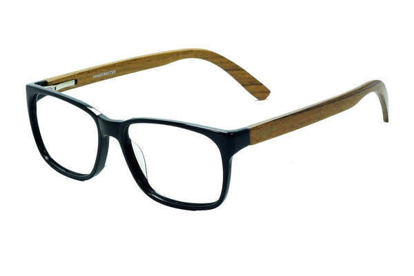 M1653 Teak Wooden Eyewear (53mm) - fabwoods