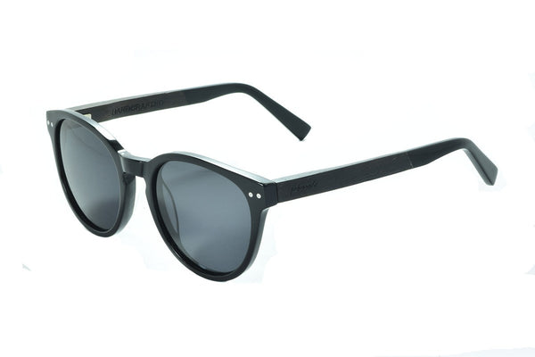 AS1602 C3 Ebony Wooden Sunglass - fabwoods