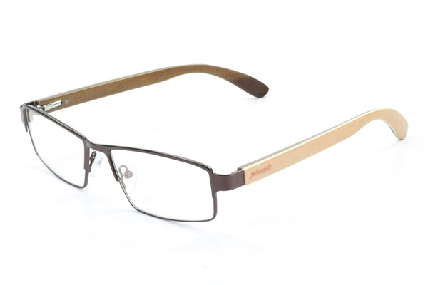 M1606 Maple Wooden Eyewear Frame - fabwoods