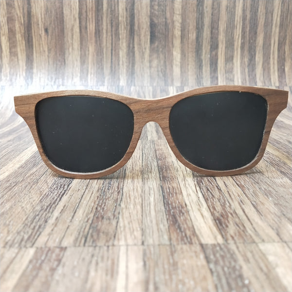 AS1601 C1 Ebony Wooden Sunglass - fabwoods
