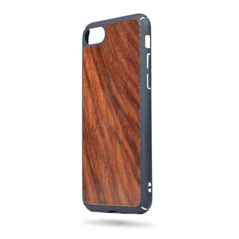 Wooden Phone Case - Iphone 7 - Rosewood - Feather Collection - fabwoods