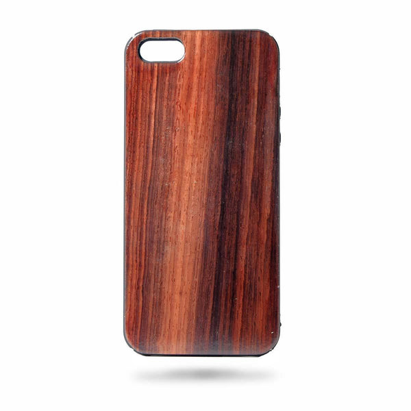 Wooden Phone Case - Iphone 5 / 5s - Rosewood - fabwoods