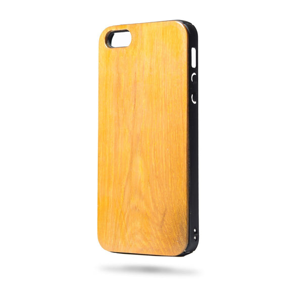 Wooden Phone Case - Iphone 5 / 5s - Teak Wood - fabwoods