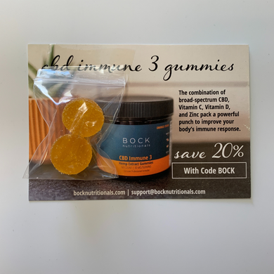 CBD Immune Gummy Sample