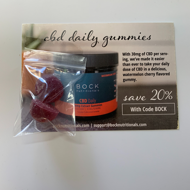 CBD Daily Gummy Sample