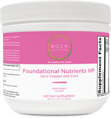 Foundational Nutrients HP (without copper & iron)