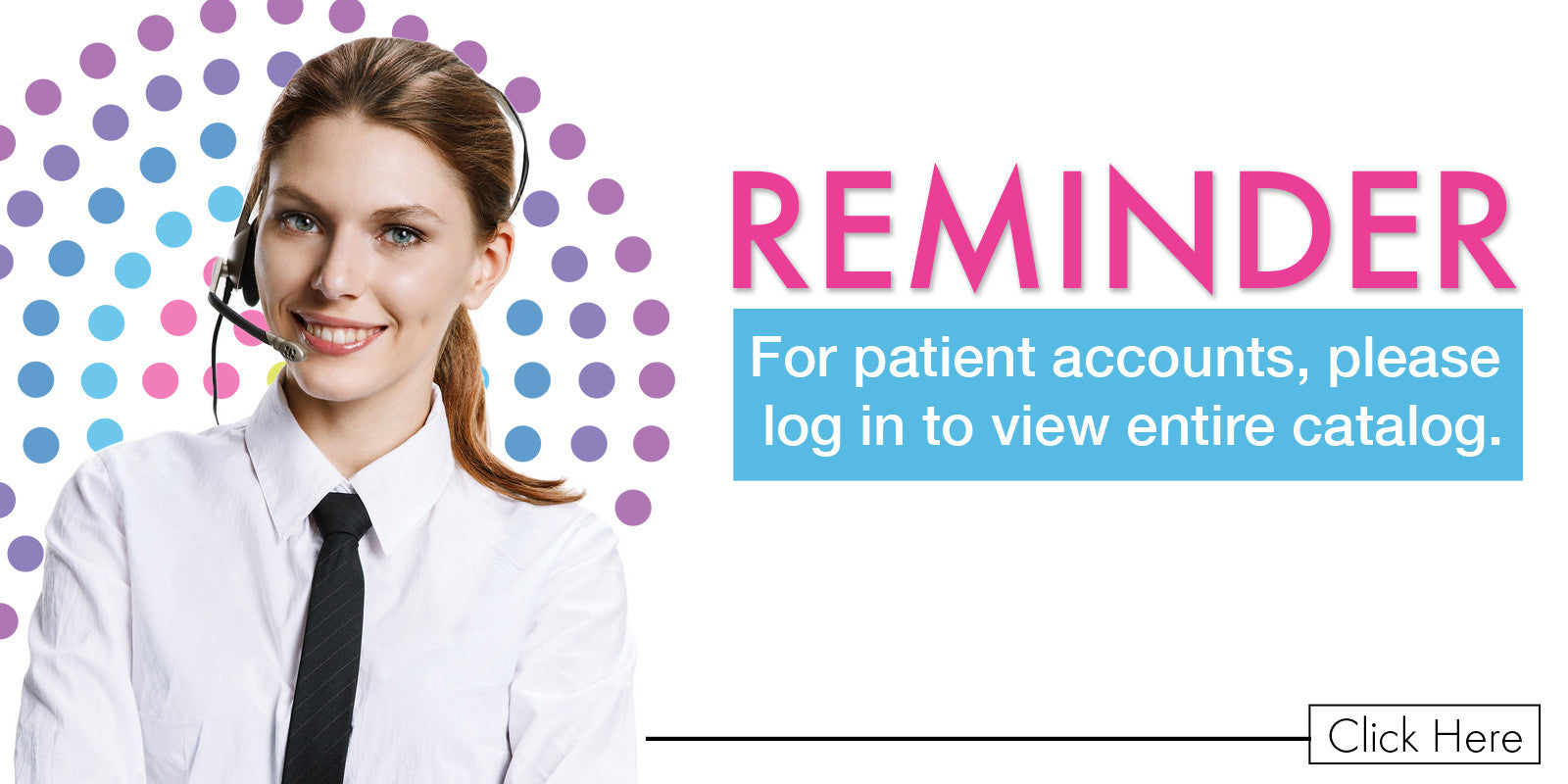 Create your patient account