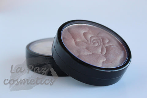 Floral Shimmer Blush - Adorned Gold