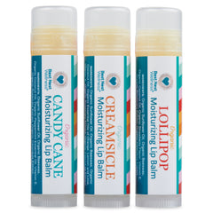 Organic Lip Balm Set Trio