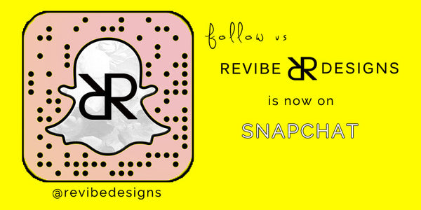 Revibe Designs is now on snapchat!