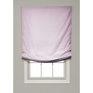 Solid Color Relaxed Roman Shade - Revibe Designs