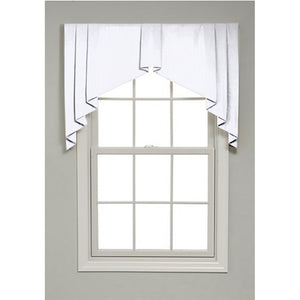 Winston Solid Color Valance - Revibe Designs