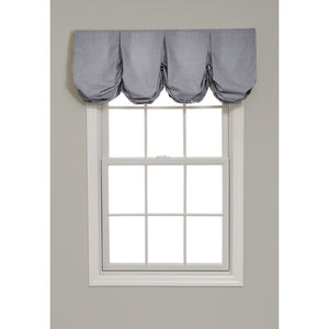 Pleated Balloon Valance - Revibe Designs