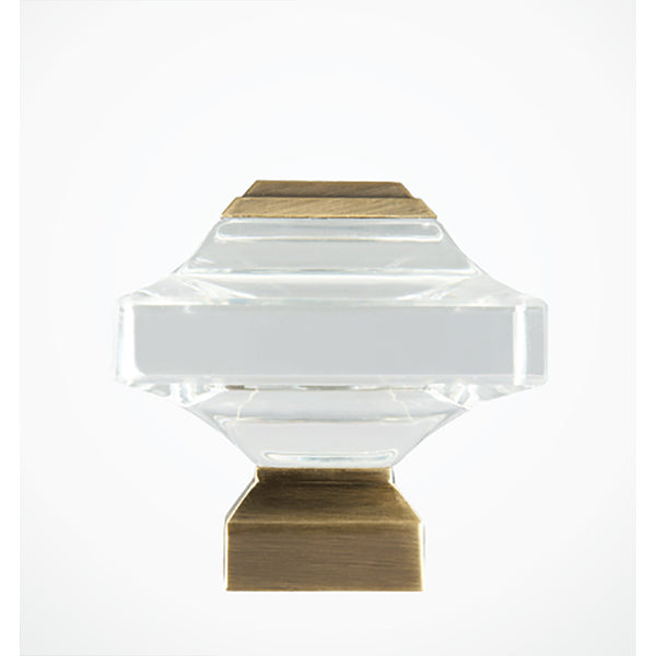 Beveled Glass Finial - Revibe Designs