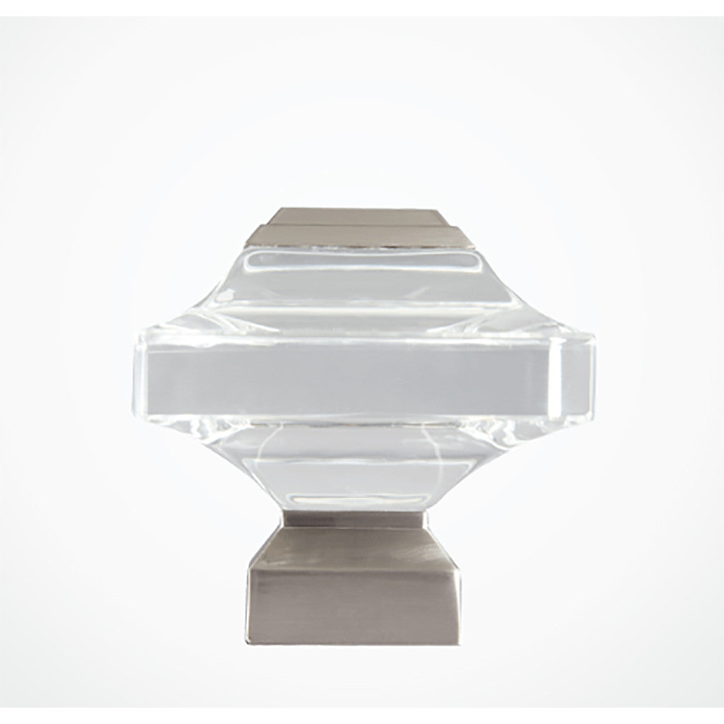 Beveled Glass Finial
