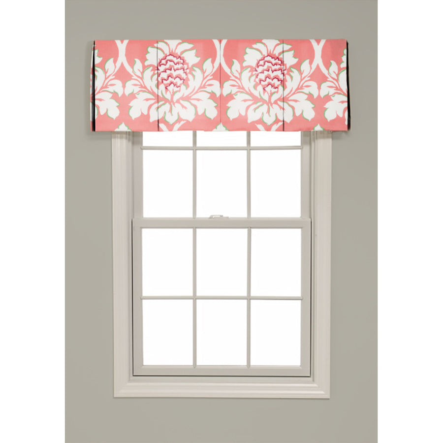Inverted Box Pleat Ditchley Park Valance - Revibe Designs