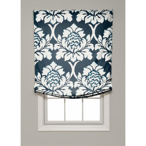 Ditchley Park Relaxed Roman Shade - Revibe Designs