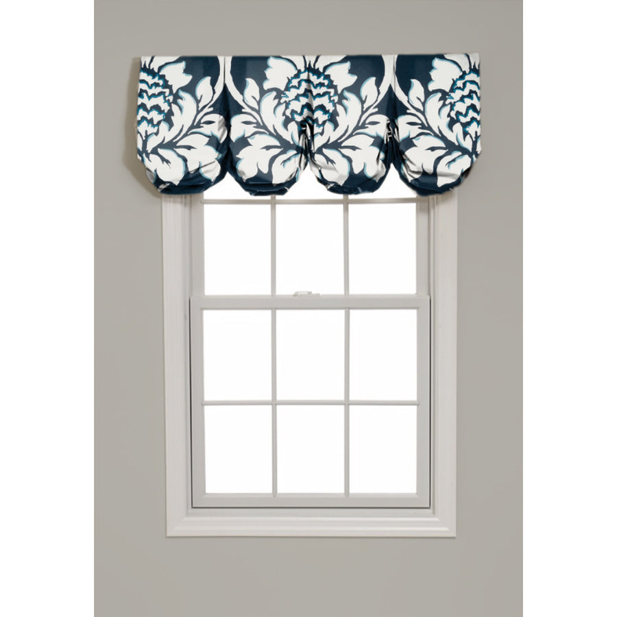 Ditchley Park Pleated Balloon Valance - Revibe Designs