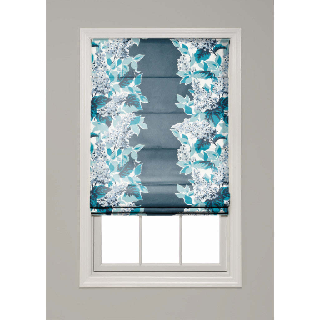 Windy Corner Hobbled Roman Shade - Revibe Designs