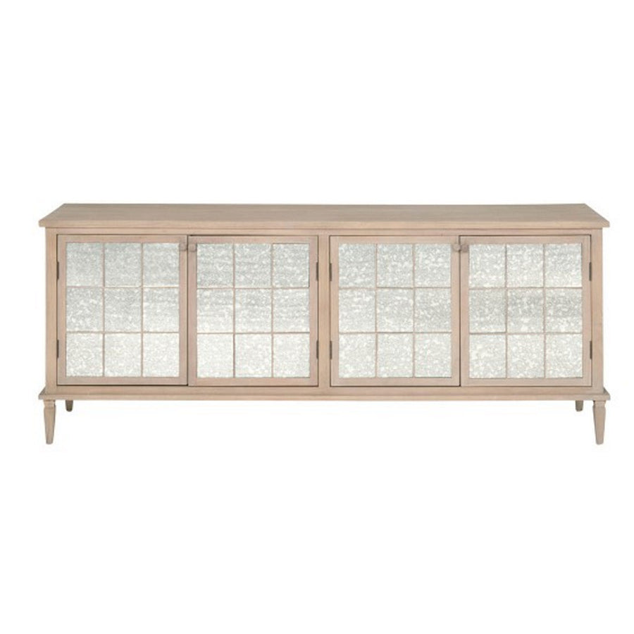 Mirrored Media Sideboard - Revibe Designs