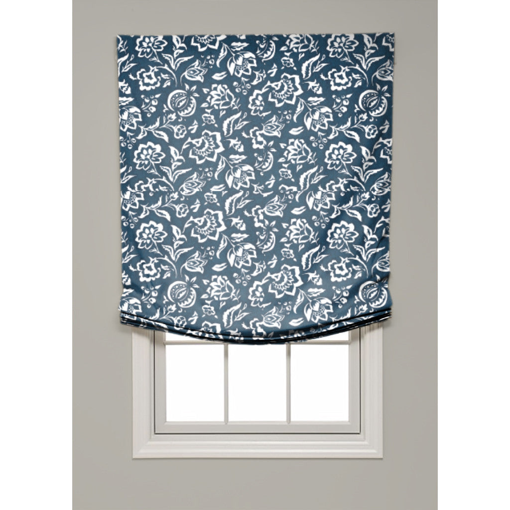 Rokeby Road Relaxed Roman Shade - Revibe Designs
