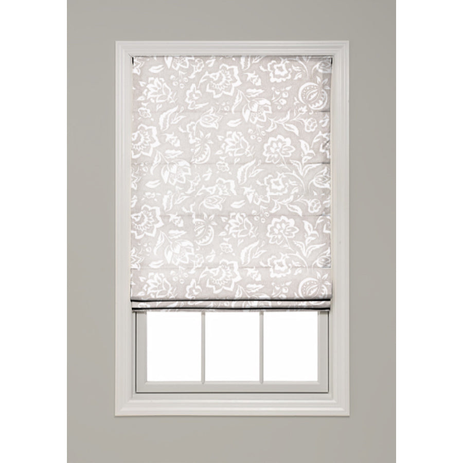 Rokeby Road Hobbled Roman Shade - Revibe Designs