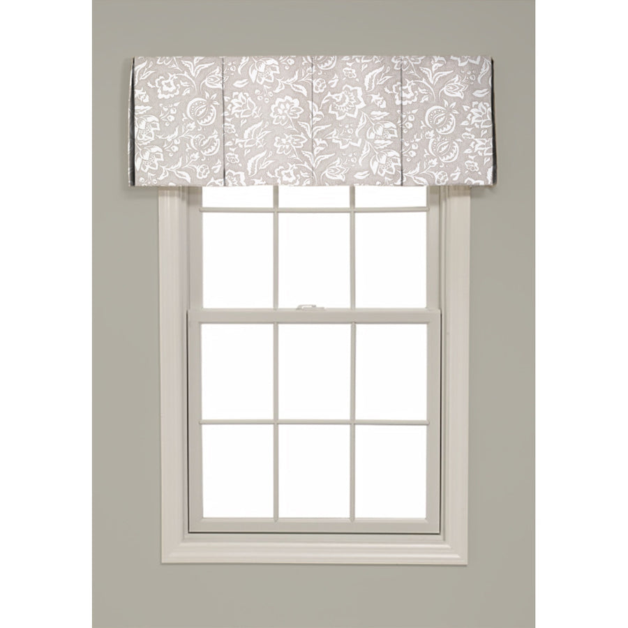 Inverted Box Pleat Rokeby Road Valance - Revibe Designs