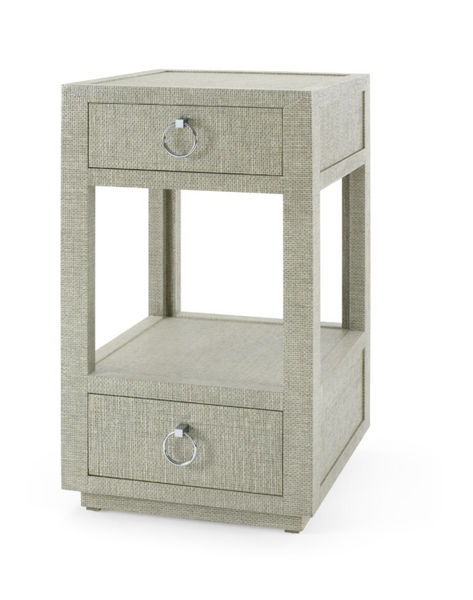 Camilla 2 Drawer Side Table