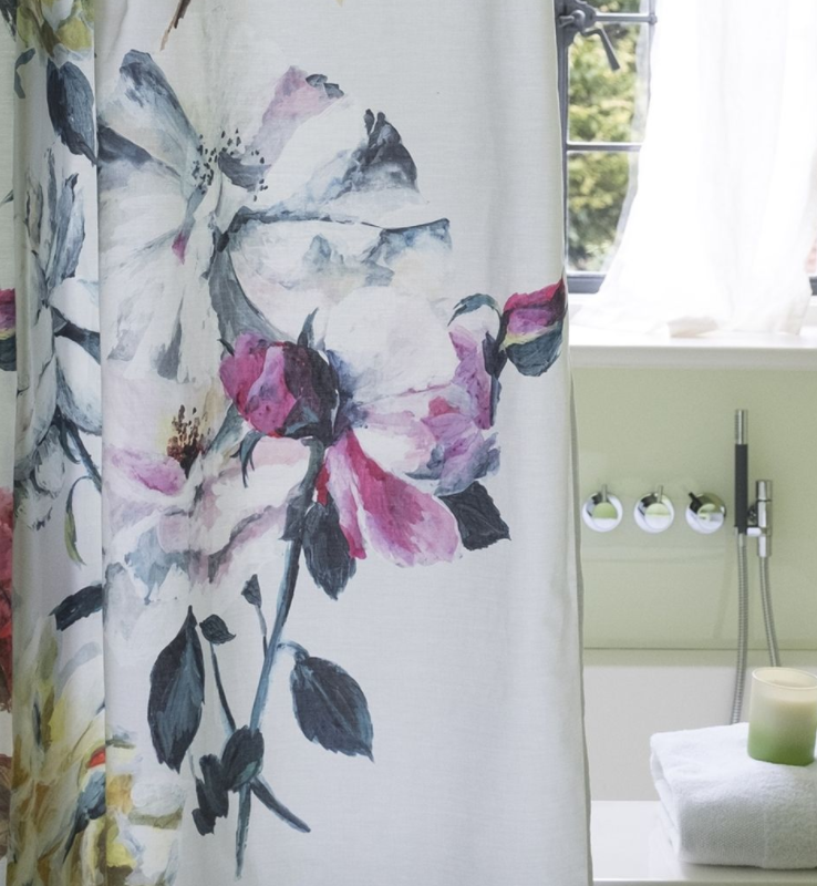 Couture Rose Shower Curtain