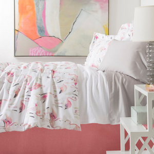Flamingo's Duvet Cover - Revibe Designs