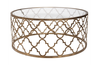 Quatrefoil Coffee Table