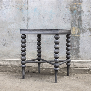 Kuna Gray End Table - Revibe Designs