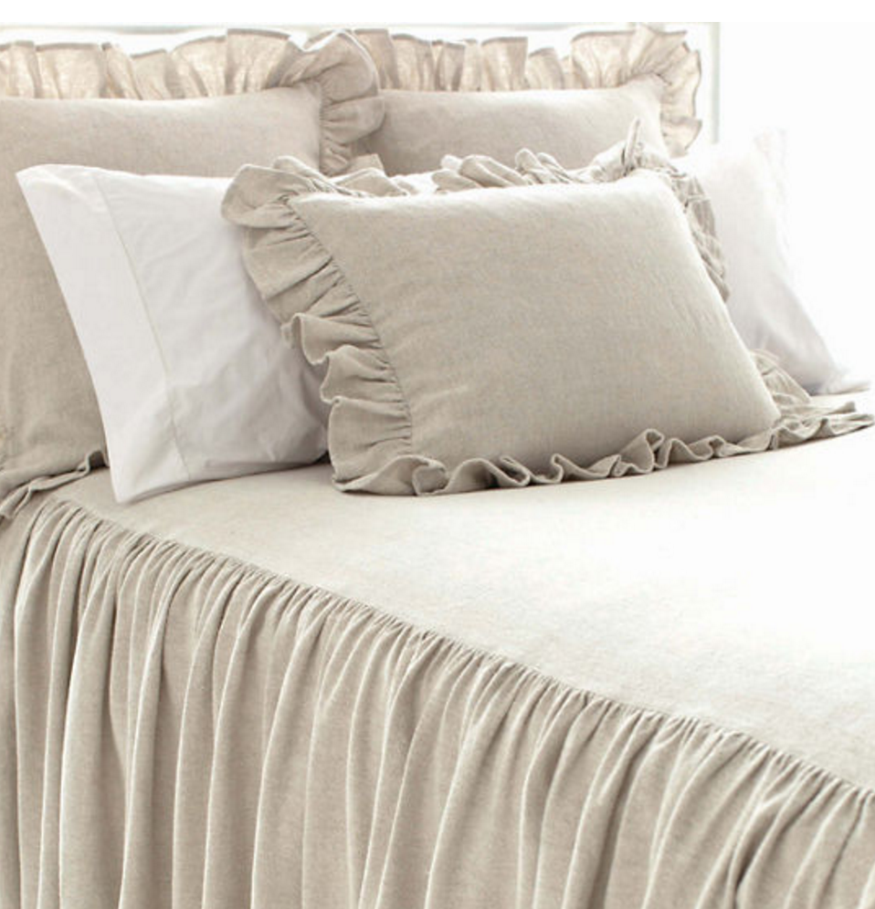 Wilton Cotton Bedspread/ Natural - Revibe Designs